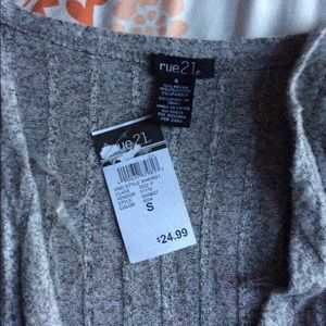 Rue21 Sweaters - NWT Rue21 Long Grey Cardigan